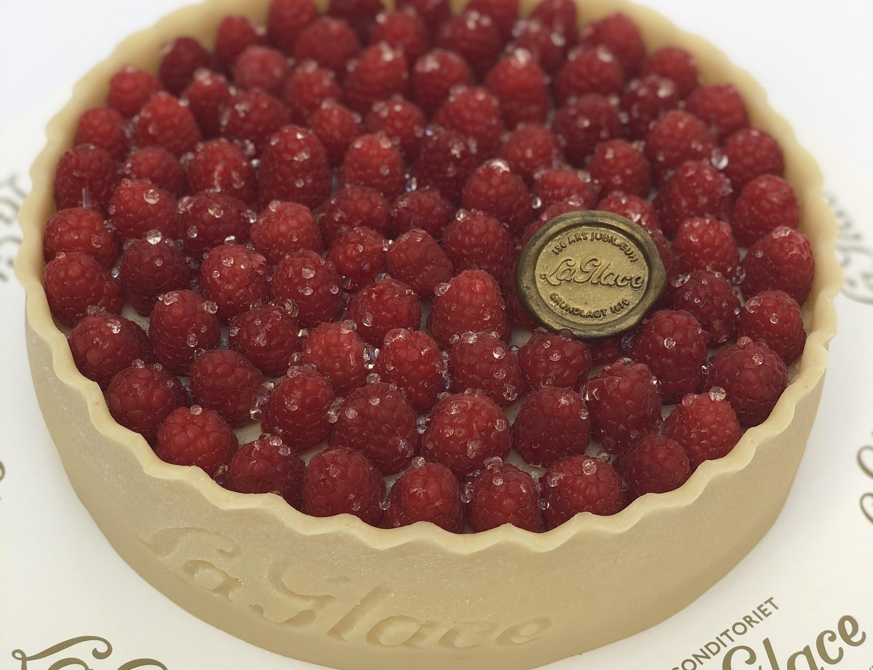 Tærte med friske bær